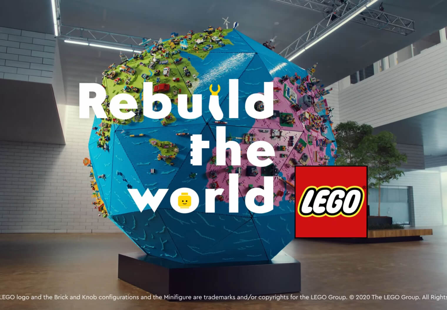 Rebuild the World with Lego